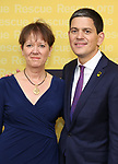 Louise Shackelton and IRC President and CEO David Miliband attends The 2017 Rescue Dinner hosted by IRC at New York Hilton Midtown on November 2, 2017 in New York City.