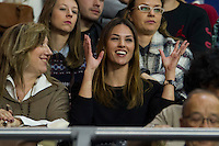 Helen Lindes during 2014-15 Euroleague Basketball match between Real Madrid and Galatasaray at Palacio de los Deportes stadium in Madrid, Spain. January 08, 2015. (ALTERPHOTOS/Luis Fernandez) /NortePhoto /NortePhoto.com