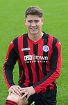 Kyle Lander, St Johnstone FC...Season 2014-2015<br /> Picture by Graeme Hart.<br /> Copyright Perthshire Picture Agency<br /> Tel: 01738 623350  Mobile: 07990 594431