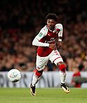 Arsenal's Ainsley Maitland-Niles in action during the Carabao cup match at the Emirates Stadium, London. Picture date 20th September 2017. Picture credit should read: David Klein/Sportimage