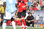 14 November 2010: Maryland head coach Sasho Cirovski. The University of Maryland Terrapins defeated the University of North Carolina Tar Heels 1-0 at WakeMed Soccer Park in Cary, North Carolina in the ACC Men's Soccer Tournament Championship game.