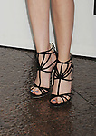 LOS ANGELES, CA- MAY 05: Actress Emma Roberts (shoe detail) at Tribeca Film's 'Palo Alto' - Los Angeles Premiere at the Director's Guild of America on May 5, 2014 in Los Angeles, California.