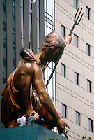COPPER SCULPTURE (PORTLANDIA)<br />