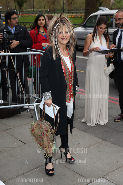 Elizabeth Emanuel at The Asian Awards 2014 held at Grosvenor House Hotel, London. 04/04/2014 Picture by: Henry Harris / Featureflash