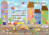 Addy, CHILDREN, KINDER, NIÑOS,construction,city, paintings+++++,GBADLLPROV1,#K# ,everyday