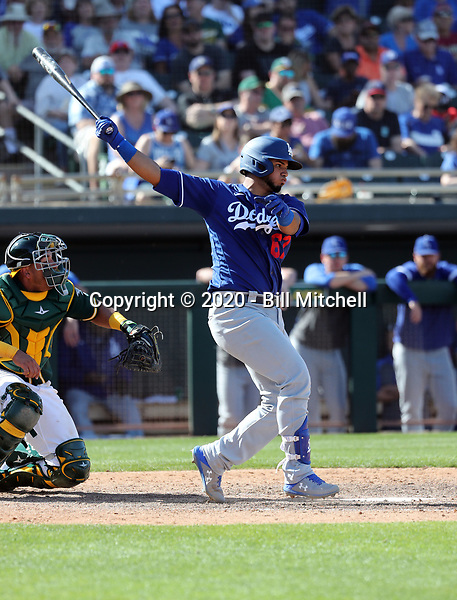Keibert Ruiz - Los Angeles Dodgers 2020 spring training (Bill Mitchell)