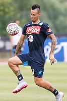 Marek Hamsik  <br /> ritiro precampionato Napoli Calcio a  Dimaro 13<br /> Luglio 2015<br /> <br /> Preseason summer training of Italy soccer team  SSC Napoli  in Dimaro Italy July 13, 2015