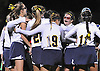 Massapequa varsity field hockey teammates celebrate after their 2-1 win over Baldwin in the Nassau County Class A final at Adelphi University on Saturday, October 31, 2015.<br /> <br /> James Escher<br /> <br /> James Escher