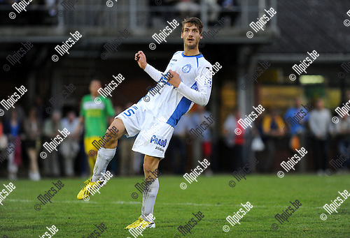 2013-08-17 / Voetbal / seizoen 2013-2014 / Merksem / Thomas Van Zantvoort<br /><br />Foto: Mpics.be