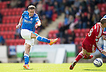 St Johnstone v Aberdeen...23.08.14  SPFL<br /> Steven MacLean shoots for goal<br /> Picture by Graeme Hart.<br /> Copyright Perthshire Picture Agency<br /> Tel: 01738 623350  Mobile: 07990 594431