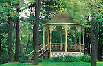 gazebo in spring, Eagles Mere, PA