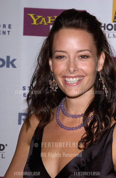 Actress AMELIA COOKE at the Hollywood Film Festival premiere of A Love Song for Bobby Long..October 17, 2004