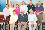John O'Callaghan, Killarney Lions Club, pictured centre with Margaret O'Donoghue, Frank Doran, Eileen Fleming, Ailish Mulcahy, Mary O'Connor, Diarmuid O'Shea, Ger Lee and Ray Walsh, who were prizewinners in the Killarney Lions club charity golf outing in aid of Recovery Haven at Killarney Golf and Fishing club on Wednesday....... ..........................