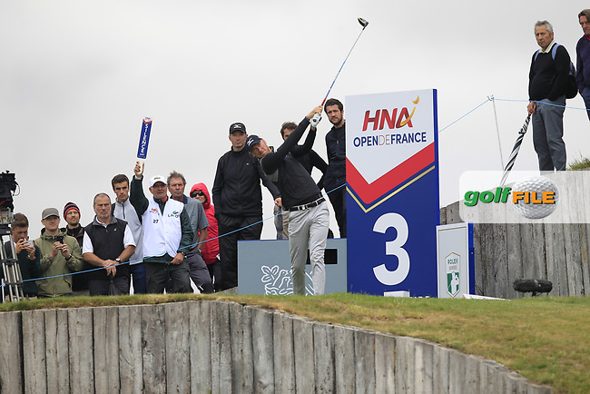 during Round 2 of the HNA Open De France  at The Golf National on Friday 30th June 2017.<br /> Photo: Golffile / Thos Caffrey.<br /> <br /> All photo usage must carry mandatory copyright credit     (&copy; Golffile | Thos Caffrey)