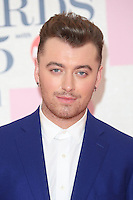 Sam Smith arriving at The Brit Awards 2015 (Brits) held at the O2 - Arrivals, London. 25/02/2015 Picture by: James Smith / Featureflash