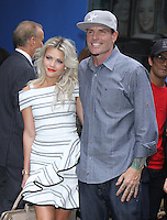 NEW YORK, NY-September 07: Robert Van Winkle aka Vanilla Ice, Whitney Carson at The Stars of Dancing with Stars Season 23 revealed at GMA in New York. NY September 07, 2016. Credit:RW/MediaPunch