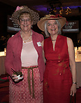 Kathy Jakolat and Sharon Chabrow during the Kentucky Derby Party at The Peppermill on Saturday, May 6, 2017 in Reno, Nevada.