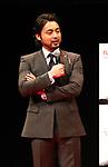 "December 5 2017, Tokyo, Japan - Japanese actor Takayuki Yamada attends a promotinal event of Japanese electronics giant Fujitsu's smartphone ""arrows NX F-01K"" in Tokyo, on Tuesday, December 5, 2017.      (Photo by Yoshio Tsunoda/AFLO) LWX -ytd-"