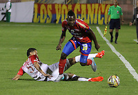 PASTO -COLOMBIA, 18-09-2016. Acción de juego entre Deportivo Pasto e Independiente Santa Fe durante encuentro  por la fecha 13 de la Liga Aguila II 2016 disputado en el estadio La Libertad./ Action game between Deportivo Pasto and Independiente Santa Fe  during match for the date 13 of the Aguila League II 2016 played at La Libertad  stadium . Photo:VizzorImage / Leonardo Castro  / Contribuidor