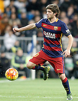FC Barcelona's Sergi Roberto during La Liga match. November 21,2015. (ALTERPHOTOS/Acero) /NortePhoto