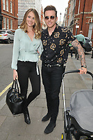 Georgia Horsley and Danny Jones at the Tom and Giovanna Fletcher's &quot;Eve of Man&quot; book launch party, The Marylebone Hotel, Welbeck Street, London, England, UK, on Thursday 31 May 2018.<br /> CAP/CAN<br /> &copy;CAN/Capital Pictures