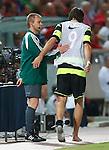 Georgios Samaras limps off