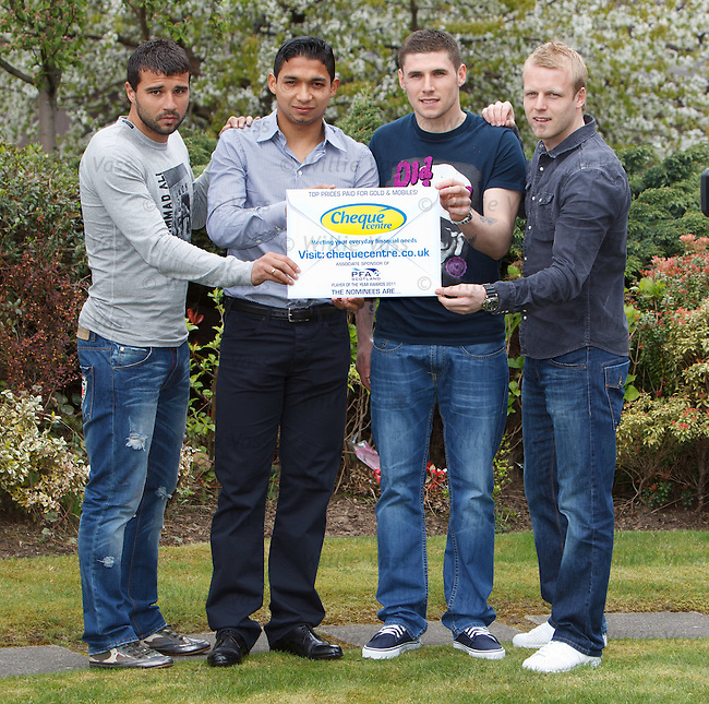 Alexei Eremenko, Emilio Izaguirre, Gary Hooper and Steven Naismith are the nominees for the 2011 PFA Scotland player of the year