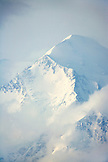 USA, Alaska, the North Peak summit of Mount Denali, Denai National Park