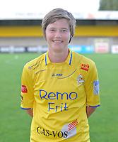 Waasland Beveren Sinaai Girls : Tina Van Der Auwera.foto Vrouwenteam.be / David Catry