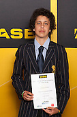 Boys Lawn Bowls winner Clayton Hockley from Takapuna Grammar School. ASB College Sport Young Sportsperson of the Year Awards held at Eden Park, Auckland, on November 24th 2011.
