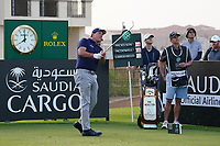 Phil Mickelson (USA) on the 11th during Round 2 of the Saudi International at the Royal Greens Golf and Country Club, King Abdullah Economic City, Saudi Arabia. 31/01/2020<br /> Picture: Golffile | Thos Caffrey<br /> <br /> <br /> All photo usage must carry mandatory copyright credit (© Golffile | Thos Caffrey)