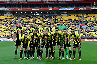 A League - Wellington Phoenix v Brisbane Roar FC at Westpac Stadium, Wellington, New Zealand on Saturday 28 October.<br /> Photo by Masanori Udagawa. <br /> www.photowellington.photoshelter.com