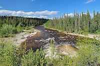 Redknife River<br /> Mackenzie Highway<br /> Northwest Territories<br /> Canada