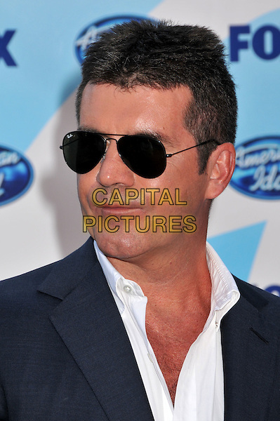 "SIMON COWELL.""American Idol"" Season 8 Finale - Arrivals held at the Nokia Theatre LA Live, Los Angeles, CA, USA..May 20th, 2009.headshot portrait sunglasses shades .CAP/ADM/BP.©Byron Purvis/AdMedia/Capital Pictures."