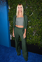 Hailey Baldwin at the launch party for Apple Music's &quot;Carpool Karaoke: The Series&quot; at Chateau Marmont, West Hollywood, USA 07 Aug. 2017<br /> Picture: Paul Smith/Featureflash/SilverHub 0208 004 5359 sales@silverhubmedia.com