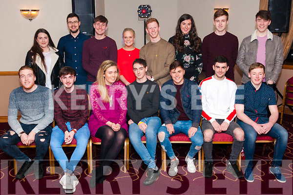 Colin Doody of Ballymac celebrated his 21st birthday party with family and friends on Saturday night at his Kerins O'Rahillys Club