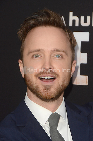 LOS ANGELES, CA - MARCH 21: Aaron Paul at the Los Angeles premiere of Hulu's The Path at The ArcLight Hollywood in Los Angeles, California on March 21, 2016. Credit: David Edwards/MediaPunch