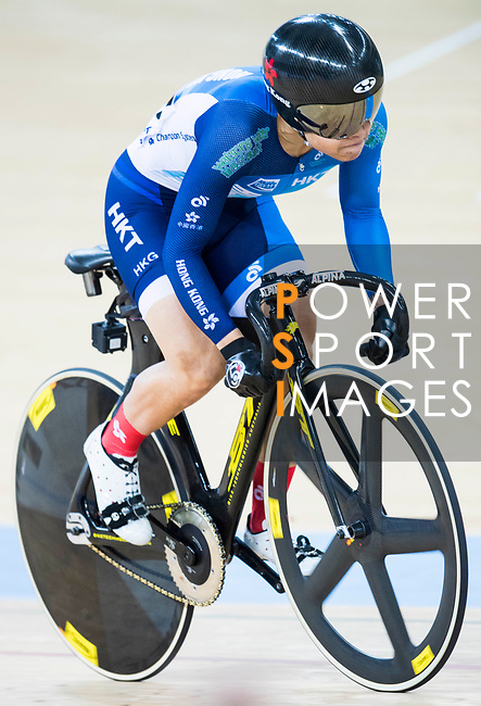 Riders compete on the Women's Sprint Semifinal Race 1 during the 2017 UCI Track Cycling World Championships on 14 April 2017, in Hong Kong Velodrome, Hong Kong, China. Photo by Victor Fraile / Power Sport Images
