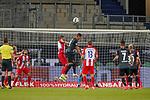 Marco Friedl (Werder Bremen #32), Robert Leipertz (1. FC Heidenheim 1846 #13), #Milot Rashica (Werder Bremen #07), Davy Klaassen (Werder Bremen #30)<br /> <br /> <br /> Sport: nphgm001: Fussball: 1. Bundesliga: Saison 19/20: Relegation 02; 1.FC Heidenheim vs SV Werder Bremen - 06.07.2020<br /> <br /> Foto: gumzmedia/nordphoto/POOL <br /> <br /> DFL regulations prohibit any use of photographs as image sequences and/or quasi-video.<br /> EDITORIAL USE ONLY<br /> National and international News-Agencies OUT.