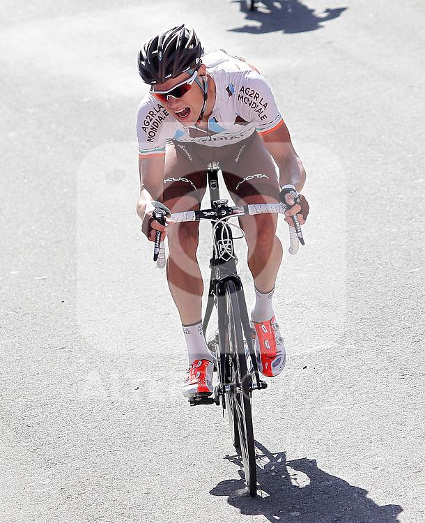 Nicolas Roche during the stage of La Vuelta 2012 between Vilagarcia de Arousa and Mirador de Erazo (Dumbria).August 30,2012. (ALTERPHOTOS/Acero)