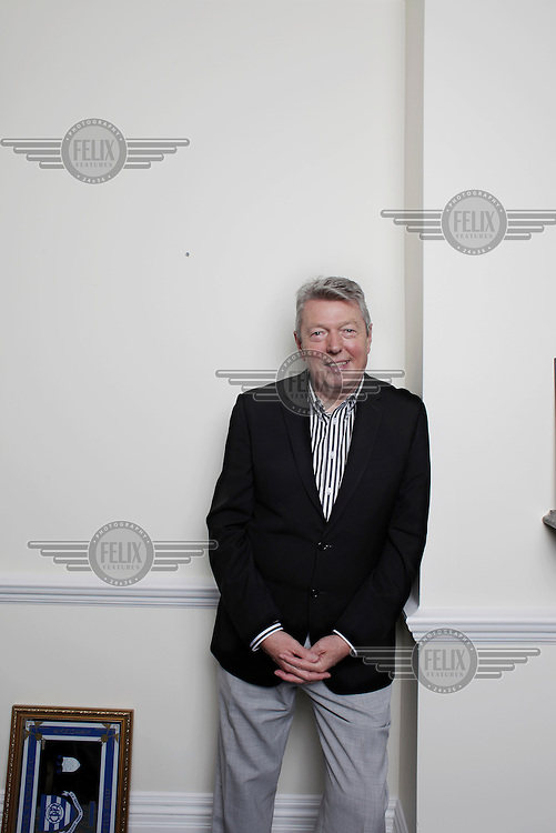 Alan Johnson, Labour MP for West Hull and Hessle, photographed at his office in Westminster.
