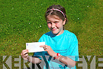 Mary Ellen McCarthy who raised over €1,000 for charity this summer.
