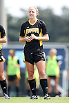 01 September 2013: Kennesaw State's Maggie Gaughan. The University of North Carolina Tar Heels hosted the Kennesaw State University Owls at Fetzer Field in Chapel Hill, NC in a 2013 NCAA Division I Women's Soccer match. UNC won the game 3-0.