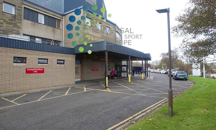 Caithness General Hospital is an NHS Highland and Argyll hospital in Wick, Caithness, Highland, Scotland.<br /> Picture: Universal News And Sport (Europe) 16 October  2014.