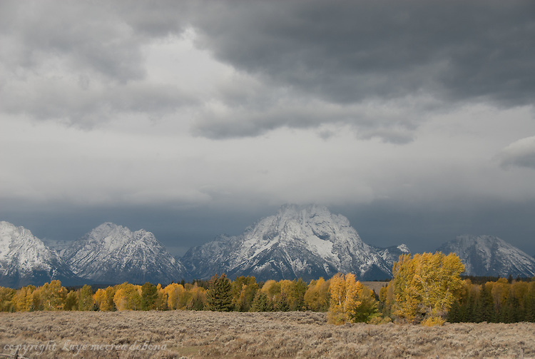 Storms over the Tetons