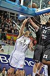 MADRID, Spain (19/01/11). Euroliga de baloncesto. Partido 1 del top 16, grupo G. Euroleague Basketball, Game 1 Top 16, Group G. Real Madrid vs Partizan MT:S..Felipe Reyes...©Raul Perez .
