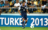 USA's  Juan Pablo Ocegueda during their FIFA U-20 World Cup Turkey 2013 Group Stage Group A soccer match Ghana betwen USA at the Kadir Has stadium in Kayseri on June 27, 2Photo by Aykut AKICI/isiphotos.com
