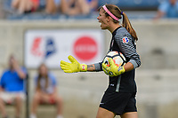Bridgeview, IL - Saturday June 17, 2017: Stephanie Labbé during a regular season National Women's Soccer League (NWSL) match between the Chicago Red Stars and the Washington Spirit at Toyota Park. The match ended in a 1-1 tie.