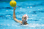 INDIANAPOLIS, IN - MAY 14: Maggie Steffens (9) of Stanford University in action during the Division I Women's Water Polo Championship against UCLA held at the IU Natatorium-IUPUI Campus on May 14, 2017 in Indianapolis, Indiana. (Photo by Joe Robbins/NCAA Photos/NCAA Photos via Getty Images)