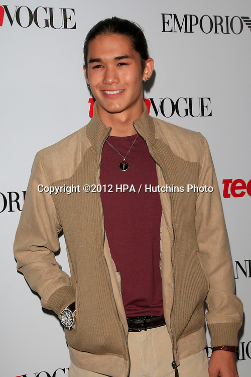 LOS ANGELES - SEP 27:  BooBoo Stewart at the Teen Vogue's 10th Annual Young Hollywood Party at Private Location on September 27, 2012 in Beverly Hills, CA